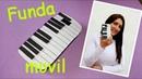Funda de movil celular en forma de PIANO