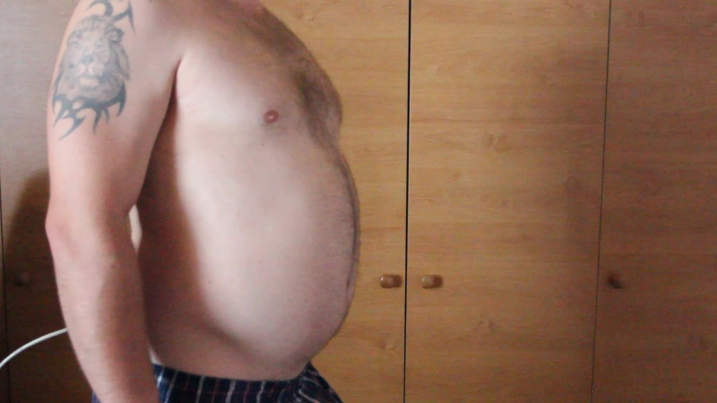 Belly inflation 21.5.2018