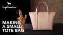 Making Bag : Small Tote LeatherAddict EP39