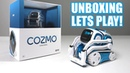 Unboxing Lets Play - BLUE COZMO - Limited Edition - Anki's New Cute Robot (FULL REVIEW!)
