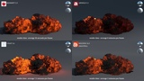 Render Comparison Test 8 (Volume) - Redshift, Arnold, V-Ray, Mantra -