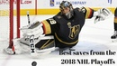 Best Saves From The 2018 NHL Playoffs