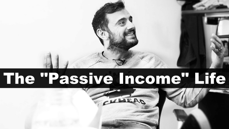 The ONLY Passive Income Video You Need To Watch - Gary Vaynerchuk | Motivational Rant