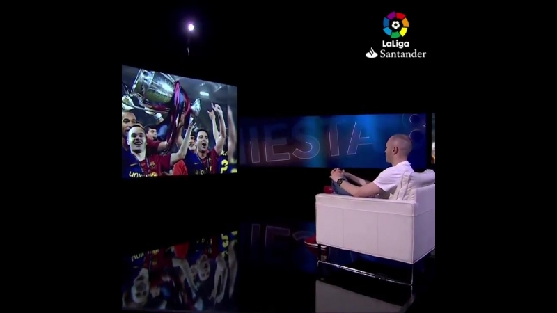 Iniesta talking about the Guardiola era