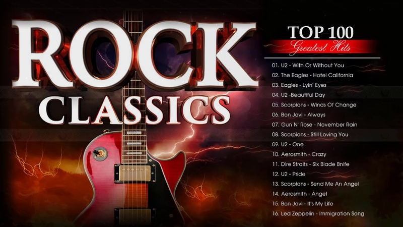 Best Classic Rock Songs Collection - Best Rock Music Of The 70s, 80s and 90s