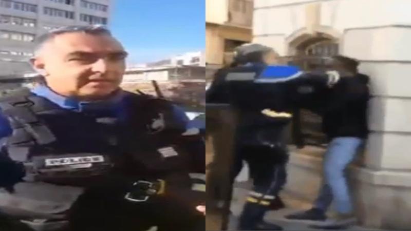 Le lourd passé du policier violent Didier Andrieux