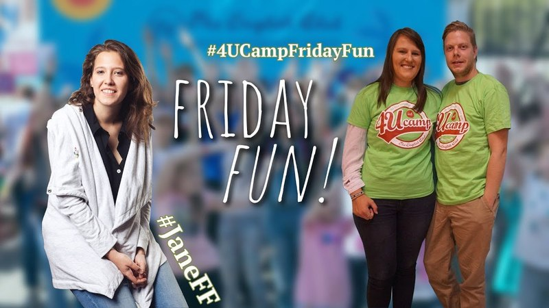 4U Camp Friday Fun - Emile and Monique from South Africa!