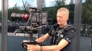 Garrett Brown Chris Fawcett presenting new Steadicam M 1 Volt
