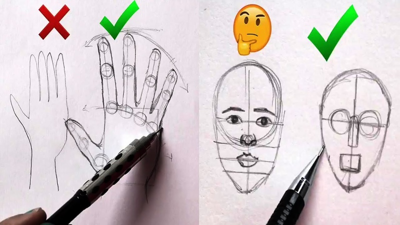 DOs DON'Ts: How to Draw Easy Step by Step / Art Drawing Tutorial / part 11