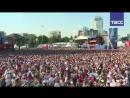 Болельщики смотрят матч Уругвай — Россия