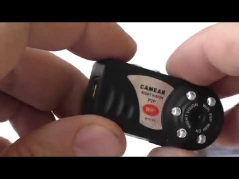 Инструкция по подключению мини wi fi камеры Q7