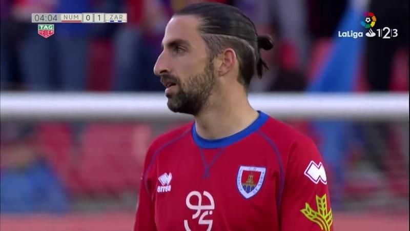 CD Нумансия Сория - Реал Сарагоса, 0-1, гол Альберто Сапатера со штрафного