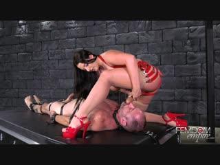 [femdomempire] angela white - cock cum guzzler [2019 г., femdom, handjob, milking, bondage, pussy licking, strapon, 1080p]