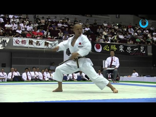 FUKUHARA HIDEKI KATA UNSU JKA ALL JAPAN CHAMPIONSHIP 2015