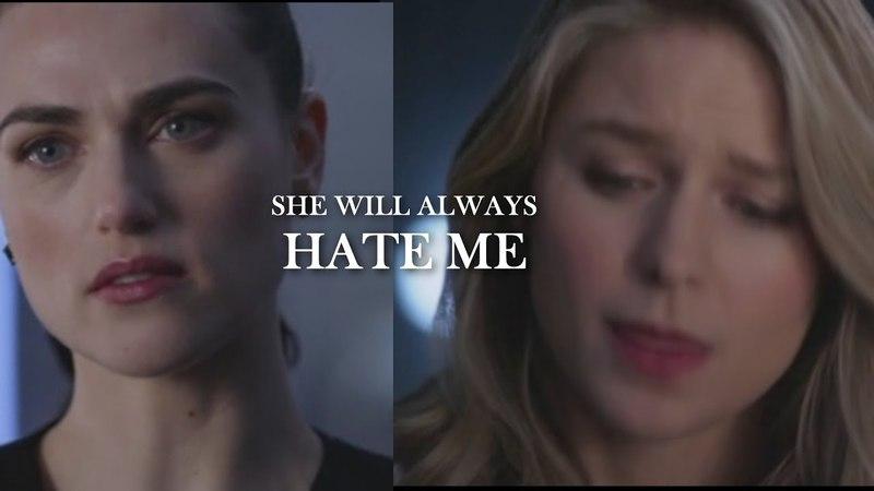 LENA KARA [3x18] ► She will always hate me. [SUPERCORP]