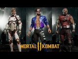 Mortal Kombat 11 Johnny Cage, Cassie Cage, and Kano Gear and Customization Showcase