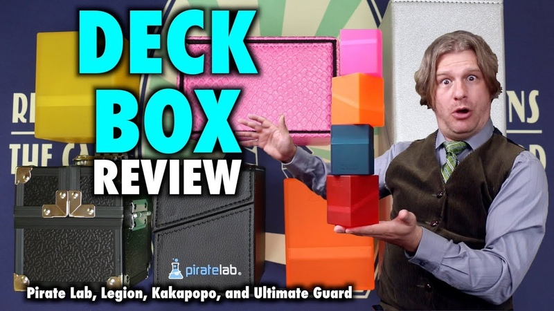 Deck Box Review Legion Vault, Horde, Ultimate Guard Boulder and Arkhive, Pirate Lab Slice and more!
