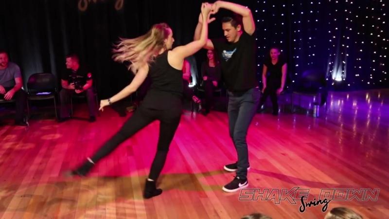 Shakedown Swing 2018 Invitational Zac Skinner and Cameo Cross