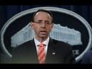 Rod Rosenstein URGENT Press Conference on Mueller Investigation