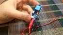 Реле с задержкой выключения XY-018 c кнопкой и автозапуском