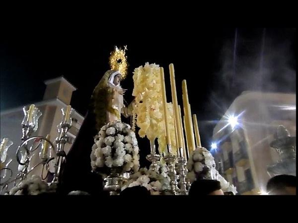 Sabado de Pasion 2018, procesion Virgen de LUZ y ANIMAS ALHAURIN de la TORRE, 24/03