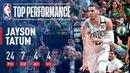 Jayson Tatum Lights Up TD Garden With A Game 5 Win vs The Cavs #NBANews #NBA #NBAPlayoffs #Celtics