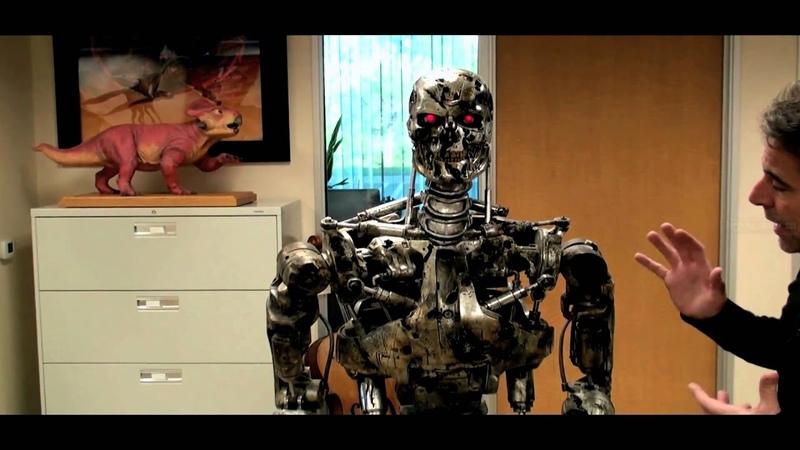 Auction interview Hollywood Treasure host Joe Maddalena on Terminator 2 Endoskeleton.