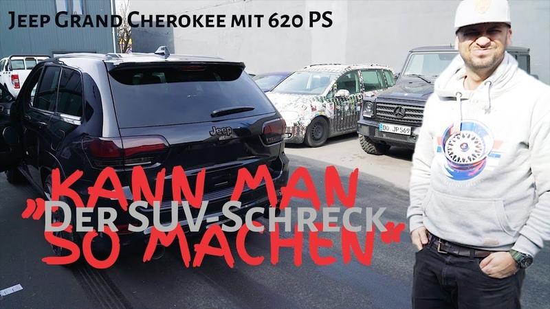 Jeep Grand Cherokee SRT8 Kompressor von GME bei JP Performance Probefahrt mit JP Kraemer