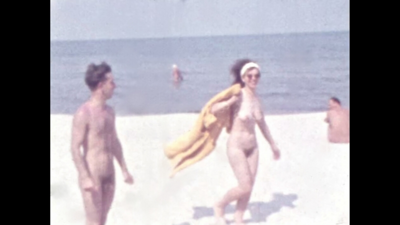 Nudism at the Baltic sea 1960s