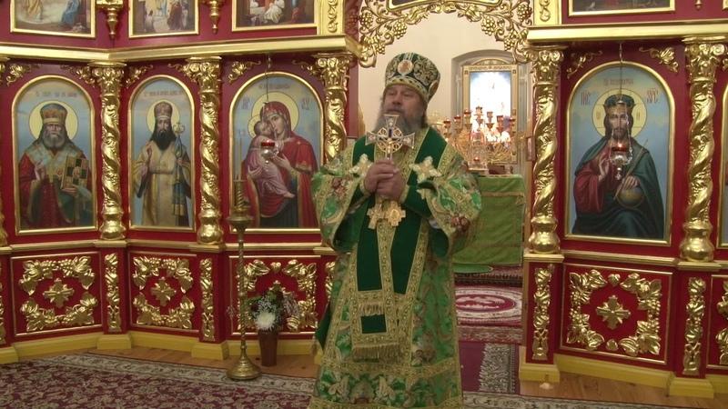 Проповедь епископа Максима в день памяти преподобного Илариона Троекуровского