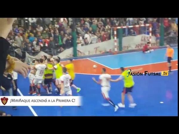 Pasión Futsal TV: Primera Junta 3 (2)-Miriñaque 3 (3) (Primera D-Desempate Ascenso) FUTSAL AFA