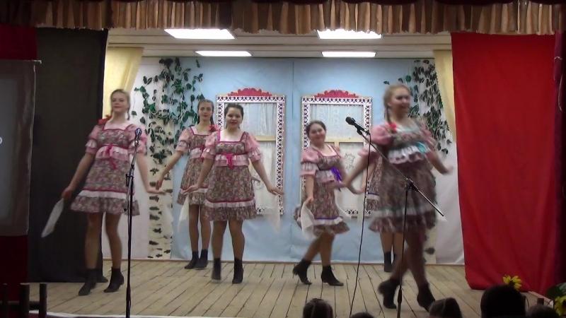 Район_танцует ТК Лебедушки танец «Как по горкам по горам»