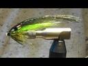 Tying Bottle salmon fly. Мушка на бутылке
