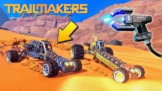 ВЫЖИВАНИЕ ПЕРВОРОХОДЦЕВ в КРУТОЙ ИГРЕ Trailmakers !!!
