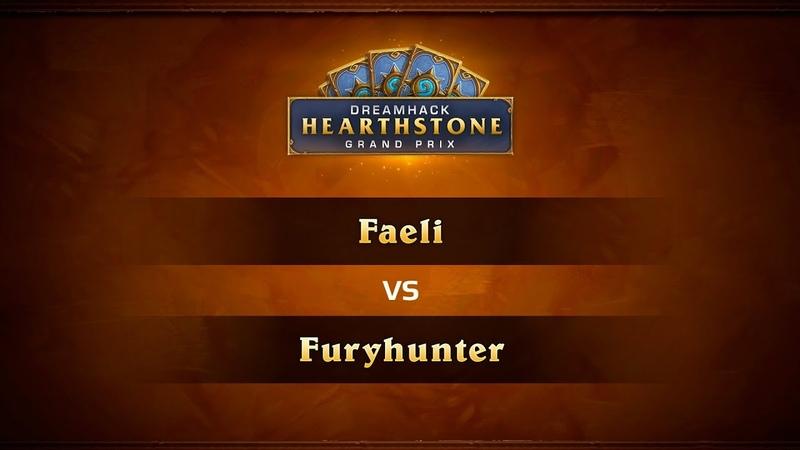 Faeli vs Furyhunter, 1/2, DreamHack Summer 2018