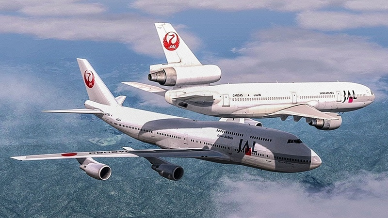 Авиация Near Collision Over Japan | Boeing 747 Almost Crash with a DC-10 | Japan Airlines Mid-Air Incident