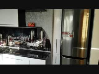 Кухня 5,5 кв. метров, совмещенная с гостиной-Евроремонт
