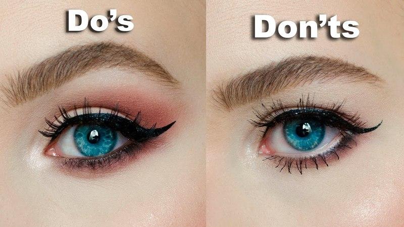 DO's DON'Ts for Hooded, Downturned eyes │MARIA ALEXANDRA