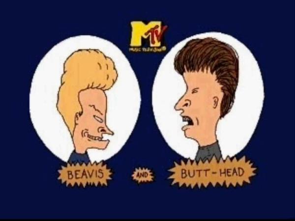 Beavis Butt-head: Virtual Aho Shoukougun (JP - Intro) - PS 1