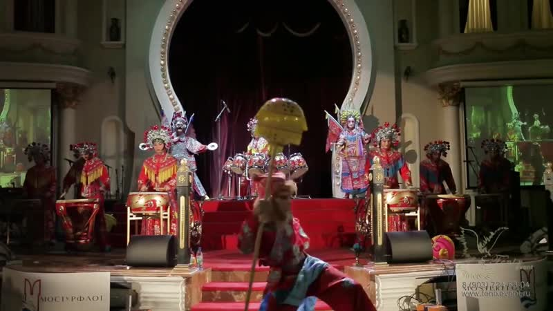 Артисты и шоу на китайский Новый год в Москве - Царь Обезьян Сунь Укун