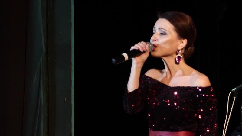 Отчетный концерт солистки ансамбля Елены Курбановой