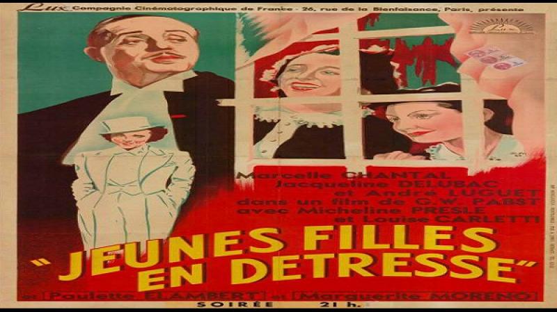 1939 G W Pabst - Jeunes filles en detresse -.Marcelle Chantal, Jacqueline Delubac, André Luguet