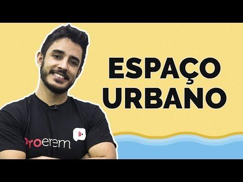 SOS ProEnem: Espaço Urbano   Geografia   Prof. Leandro Almeida