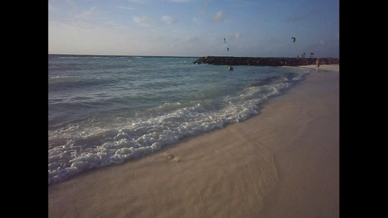 Вечерний Океан. Прогулка по пляжу Maafushi Maldives