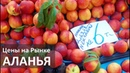 Турция Цены на фрукты и овощи в июне Пятничный рынок в Аланье
