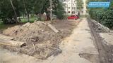 На Толмачева 4, 4а и 6 готовят места под парковку 28 машин