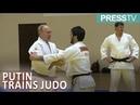 Putin injured his finger while practicing judo