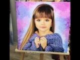 Портрет на холсте 50х50 см от holstagram.ru