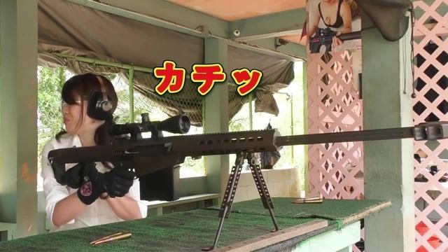 Barett girls at the range. · coub, коуб