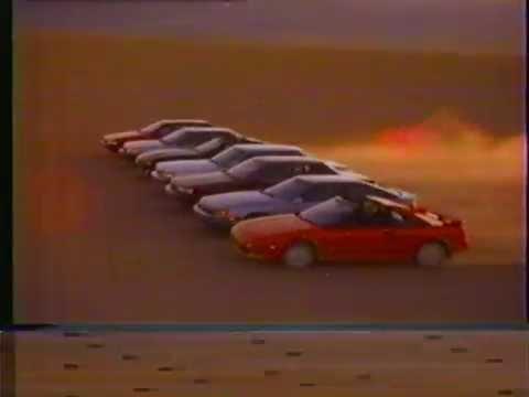 1988 toyota camry cressida tercel supra corolla celica mr2 car commercial
